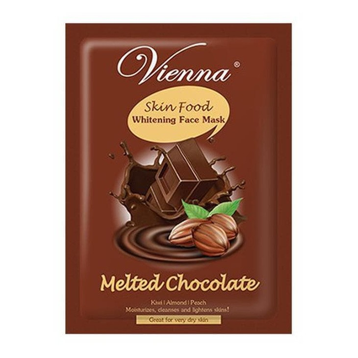 Vienna Skin Food Whitening Face Mask Melted Chocolate